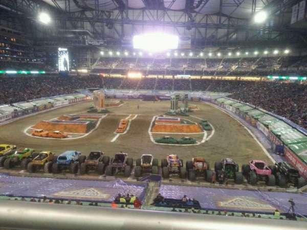 Ford Field, secção: 219, fila: 1, lugar: 16