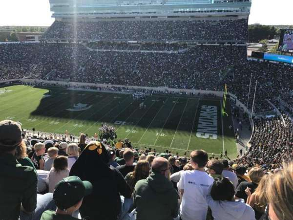 Spartan Stadium, secção: 106, fila: 22, lugar: 1