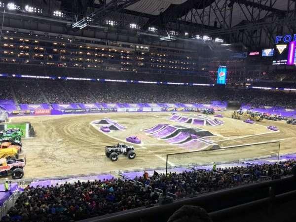 Ford Field, secção: 226, fila: 2, lugar: 25