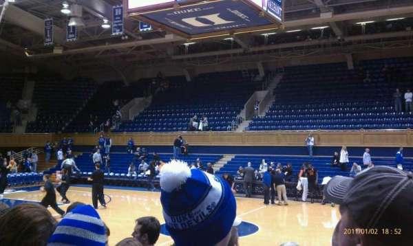 Cameron Indoor Stadium, secção: 17, fila: GA