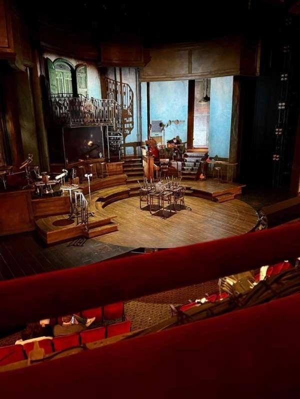 Walter Kerr Theatre, secção: Mezzanine L, fila: A, lugar: 11
