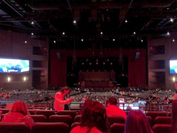 Microsoft Theater, secção: Loge Center, fila: F, lugar: 312