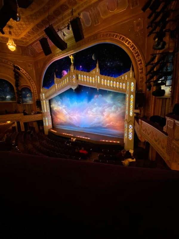 Eugene O'Neill Theatre, secção: Mezzanine R, fila: A, lugar: 16
