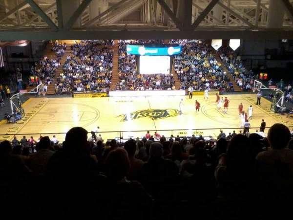 Bison Sports Arena, secção: E, fila: 16, lugar: 5