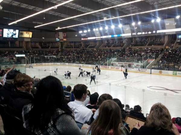 Scheels Arena, secção: 115, fila: k, lugar: 22