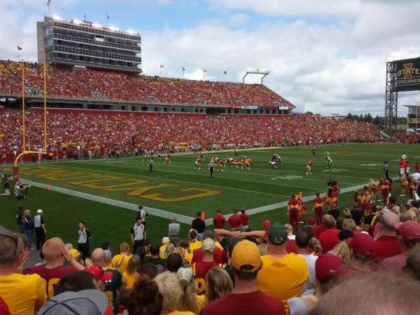 Jack Trice Stadium, secção: 17, fila: 13, lugar: 2