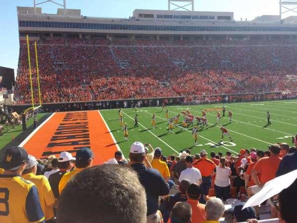 Boone Pickens Stadium, secção: 227, fila: 2, lugar: 8