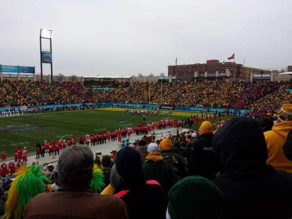 Toyota Stadium, secção: 103, fila: 26, lugar: 21