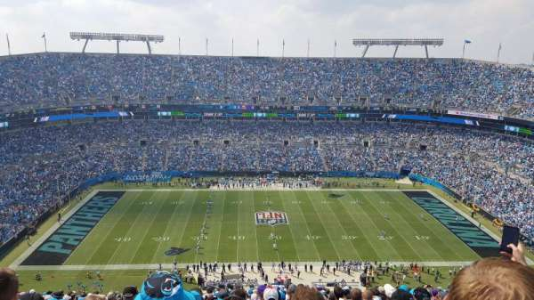 Bank of America Stadium, secção: 515, fila: 31, lugar: 22