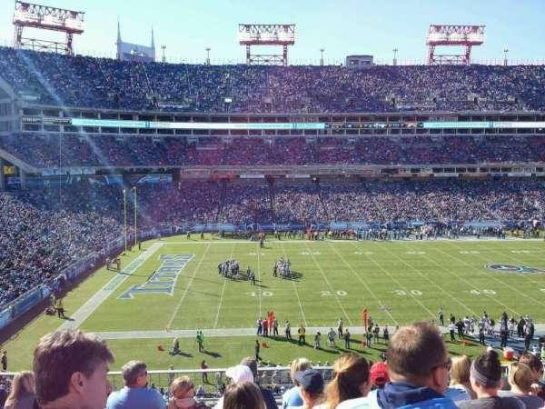 Nissan Stadium, secção: 215, fila: g, lugar: 7