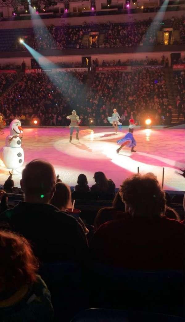 Mohegan Sun Arena at Casey Plaza, secção: 116, fila: E, lugar: 6