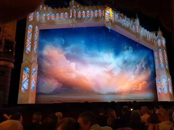 Palace Theatre (Manchester), secção: Stalls, fila: E, lugar: 33