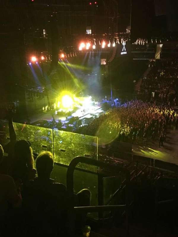 Madison Square Garden, secção: 225, fila: 6, lugar: 1