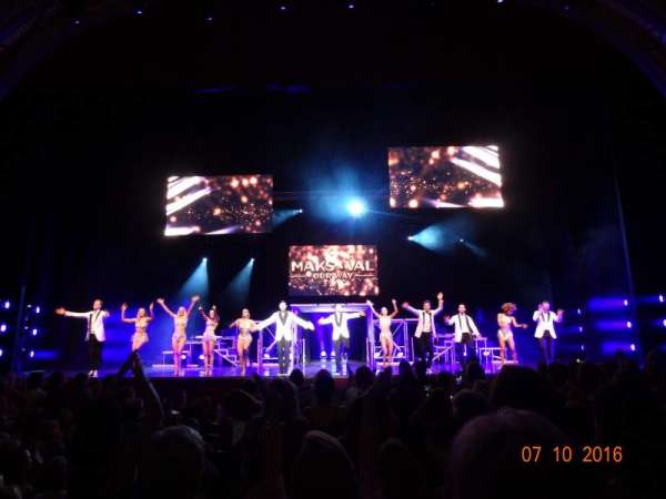 Modell Performing Arts Center, secção: ORCH, fila: H, lugar: 121-122