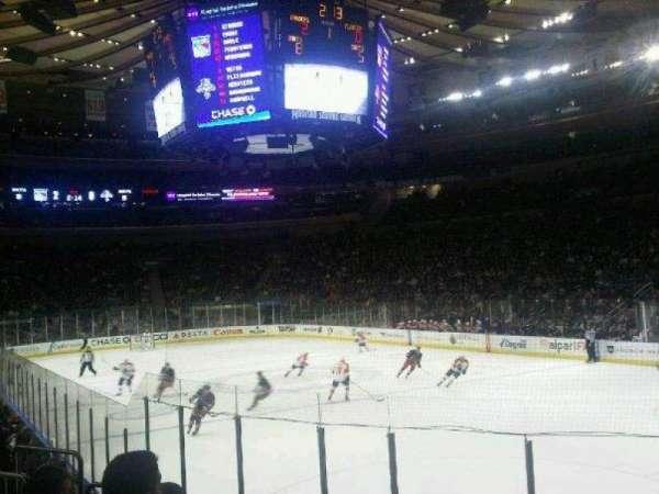 Madison Square Garden, secção: 120, fila: 8, lugar: 12