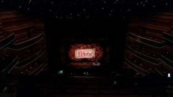 Eccles Theater, secção: 3TL, fila: F, lugar: 12
