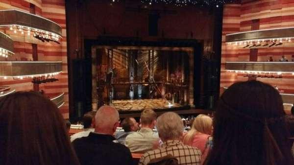 Eccles Theater, secção: 1TL, fila: E, lugar: 110