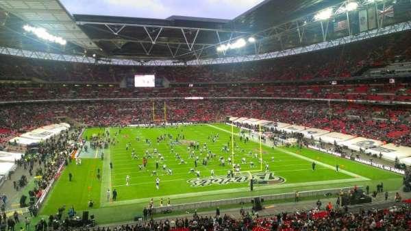 Wembley Stadium, secção: 217, fila: 10, lugar: 38