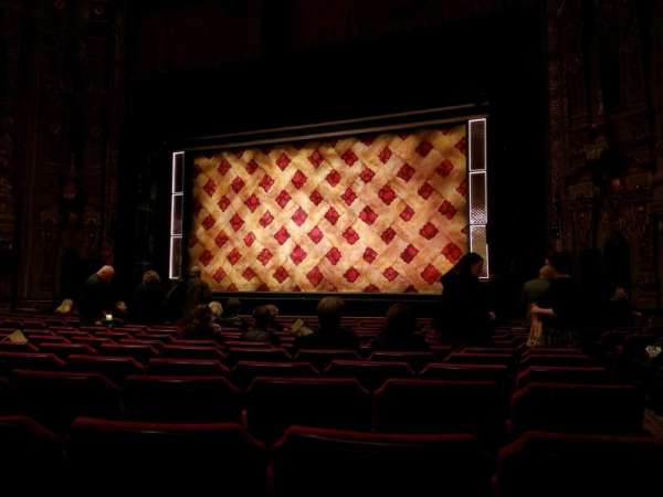 Ohio Theatre (Columbus), secção: Orch 2, fila: N, lugar: 126
