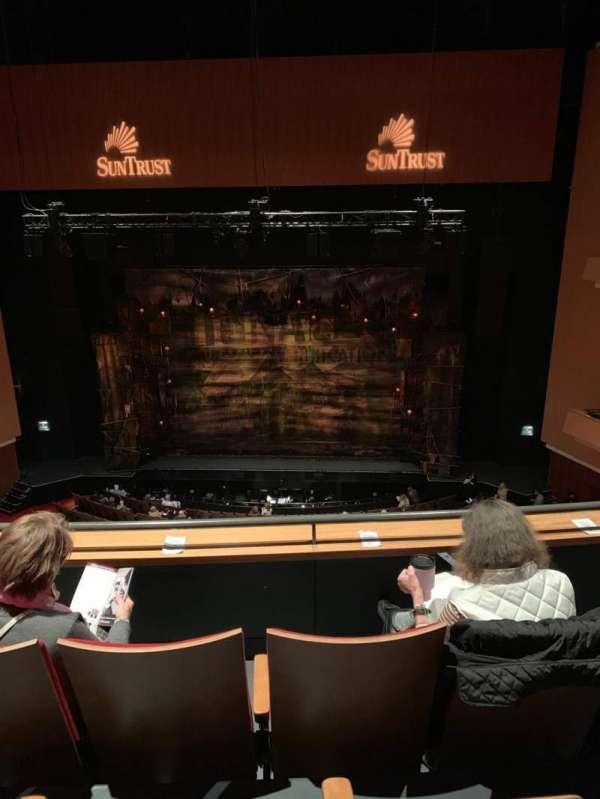 Durham Performing Arts Center, secção: Balcony 9, fila: C, lugar: 109