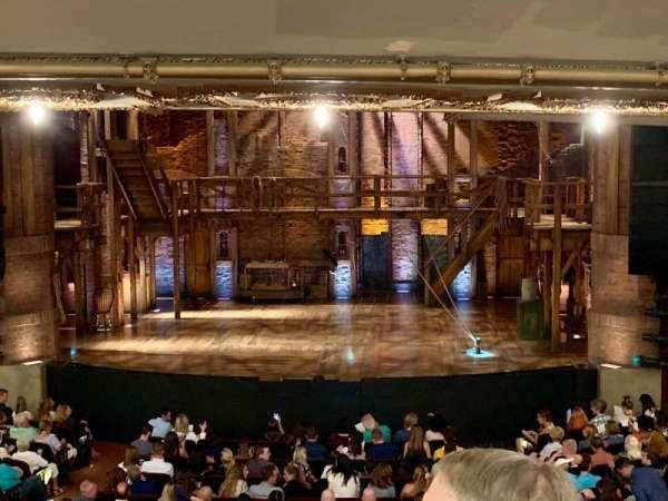 CIBC Theatre, secção: Dress Circle LC, fila: C, lugar: 207