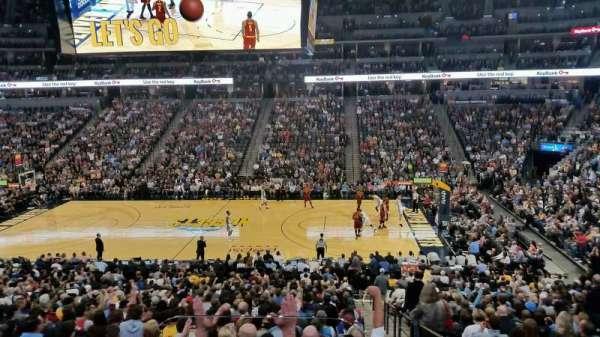 Ball Arena, secção: 148, fila: 2