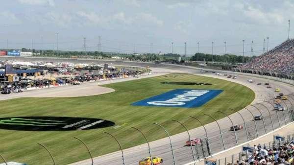 Chicagoland Speedway, secção: 422, fila: 28, lugar: 5