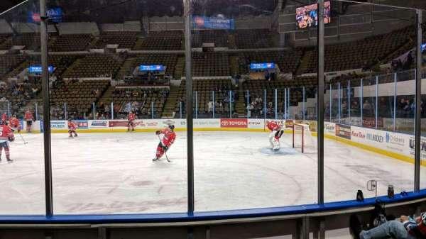 UW-Milwaukee Panther Arena, secção: 205, fila: 4, lugar: 4