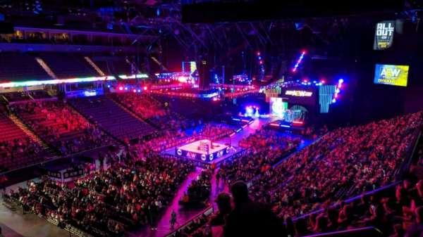 Now Arena, secção: 212, fila: 9, lugar: 20