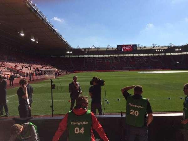St Mary's Stadium, secção: 45, fila: C, lugar: 1173