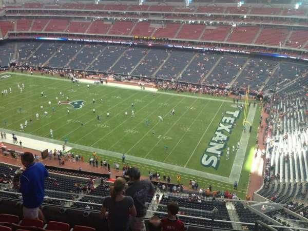 NRG Stadium, secção: 530, fila: M, lugar: 1