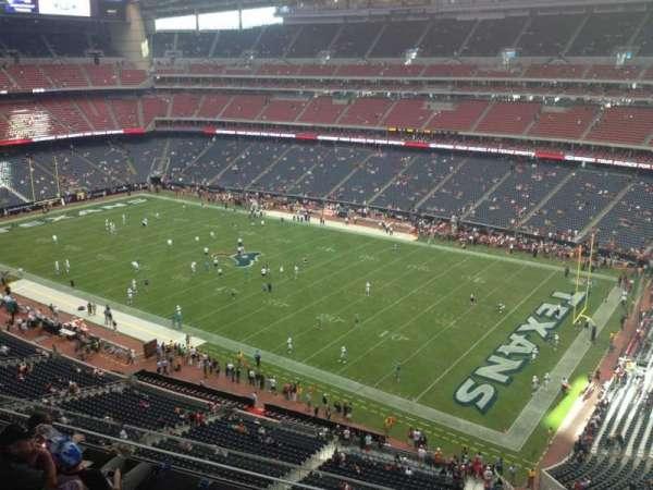 NRG Stadium, secção: 529, fila: M, lugar: 1