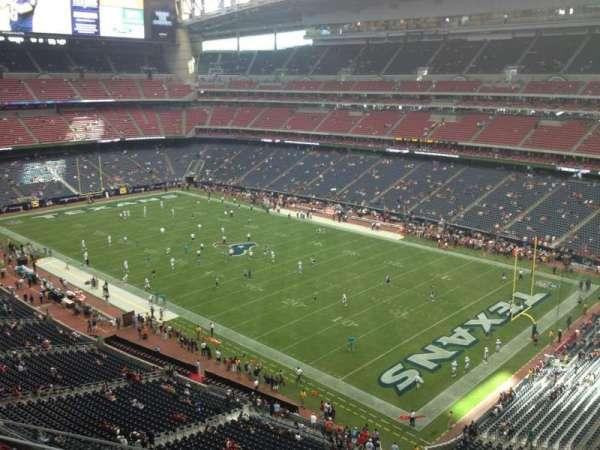 NRG Stadium, secção: 528, fila: L, lugar: 1