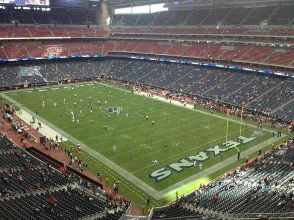 NRG Stadium, secção: 526, fila: J, lugar: 16