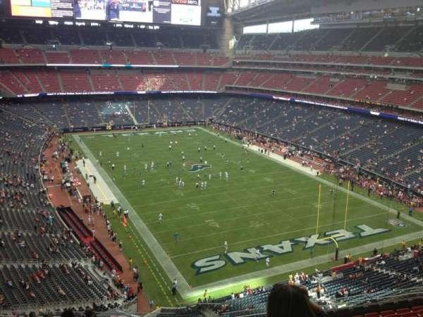 NRG Stadium, secção: 525, fila: M, lugar: 1
