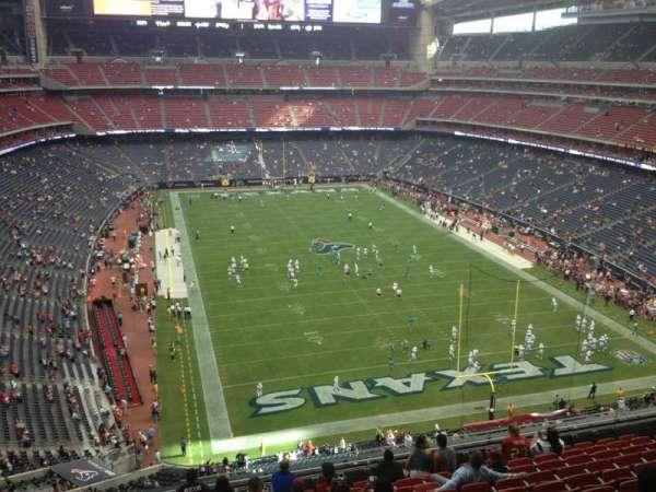 NRG Stadium, secção: 523, fila: M, lugar: 18