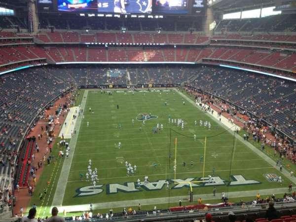 NRG Stadium, secção: 522, fila: L, lugar: 20