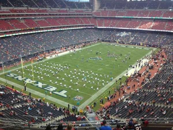 NRG Stadium, secção: 516, fila: J, lugar: 12