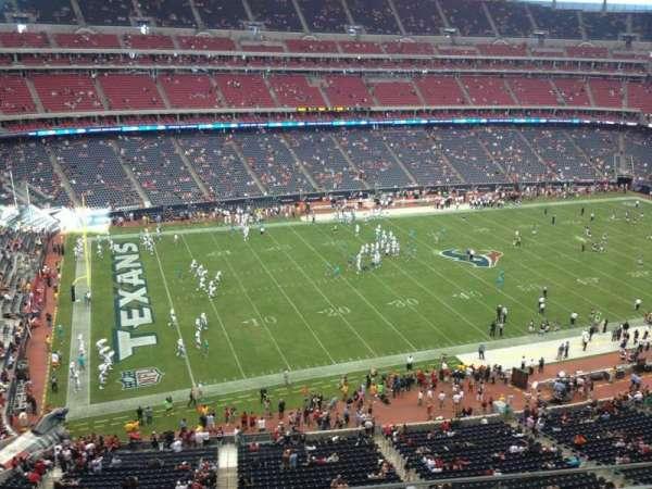 NRG Stadium, secção: 512, fila: K, lugar: 12