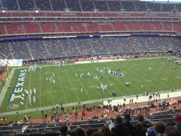 NRG Stadium, secção: 511, fila: M, lugar: 10