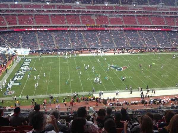 NRG Stadium, secção: 510, fila: M, lugar: 22