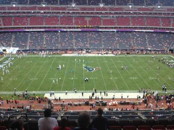 NRG Stadium, secção: 503, fila: M, lugar: 23
