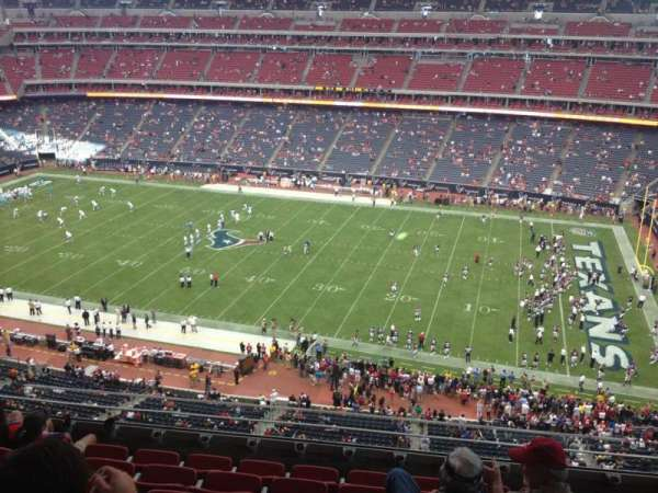 NRG Stadium, secção: 505, fila: M, lugar: 15
