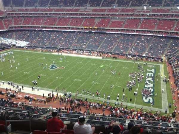 NRG Stadium, secção: 504, fila: M, lugar: 23