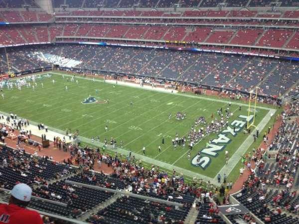 NRG Stadium, secção: 502, fila: J, lugar: 21