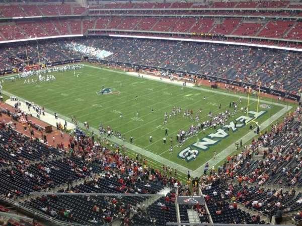 NRG Stadium, secção: 501, fila: I, lugar: 18