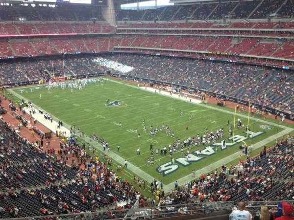 NRG Stadium, secção: 552, fila: J, lugar: 16