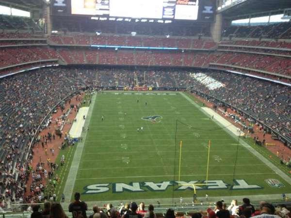 NRG Stadium, secção: 548, fila: M, lugar: 22