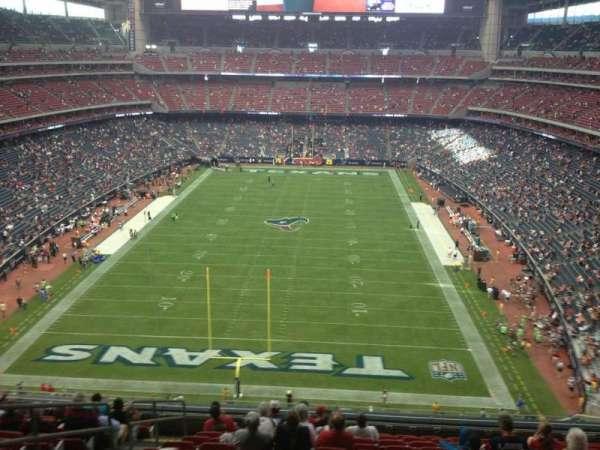 NRG Stadium, secção: 546, fila: M, lugar: 23