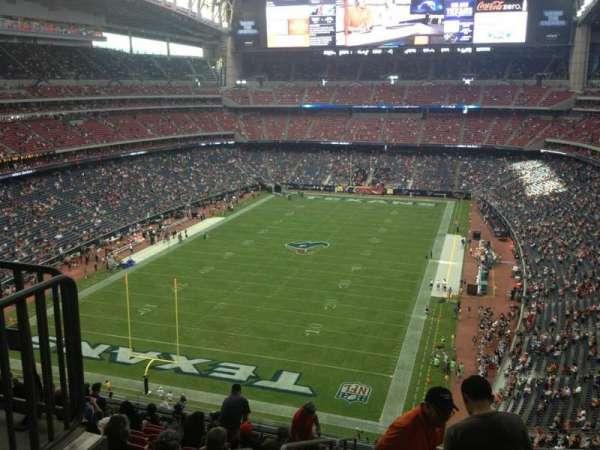 NRG Stadium, secção: 544, fila: M, lugar: 22